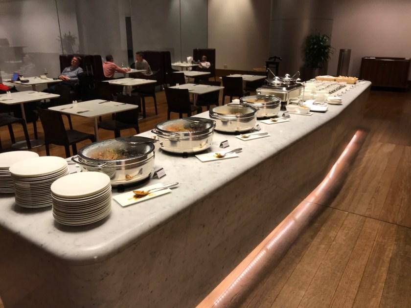 Al Mourjan Business Class Lounge Restaurant Buffet