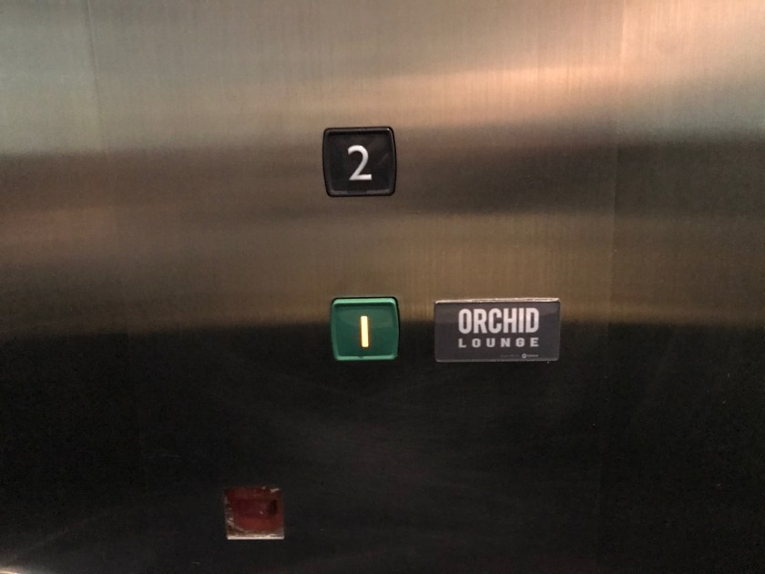 Ho Chi Minh Orchid Lounge Elevator