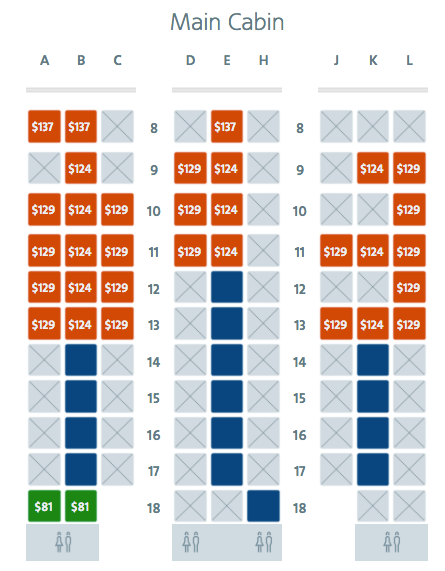 American Airlines 787 Seat Map