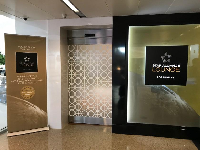 LAX Star Alliance Business Class Lounge