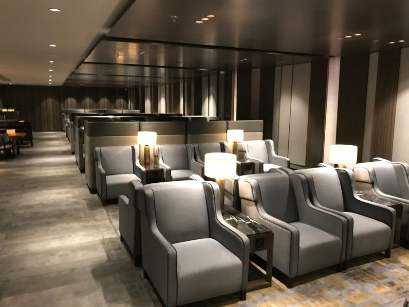 Plaza Premium Lounge Hong Kong East Living Room