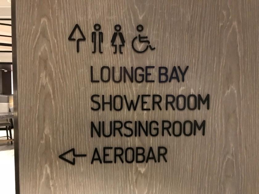 Plaza Premium Lounge Hong Kong East Signage