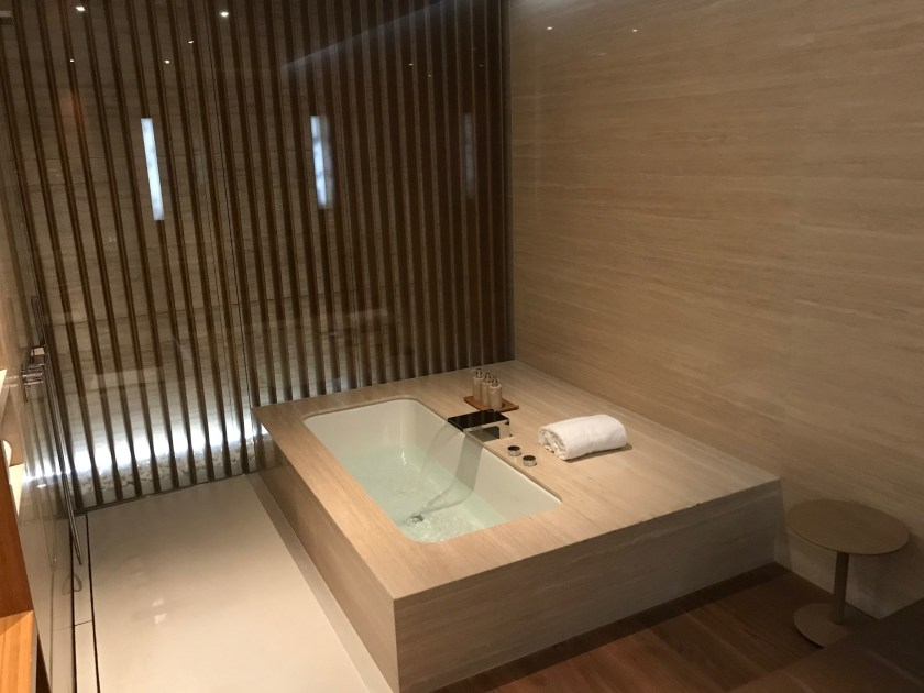 The Wing Cathay Pacific First Class Lounge