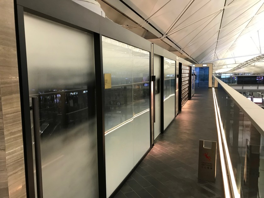American Express Centurion Lounge Hong Kong Entryway