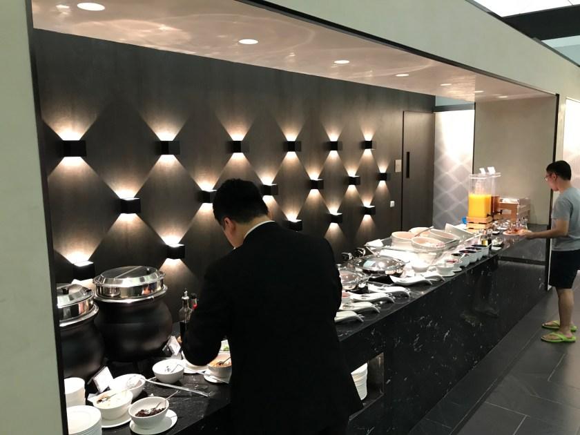 American Express Centurion Lounge Hong Kong Buffet