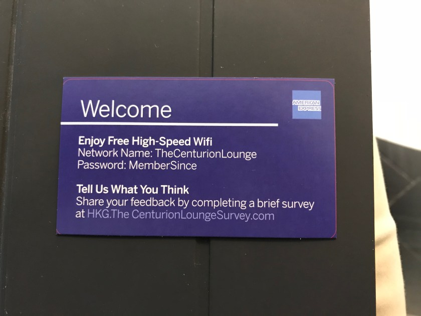 Lounge Review: American Express Centurion Lounge Hong Kong - Moore ...