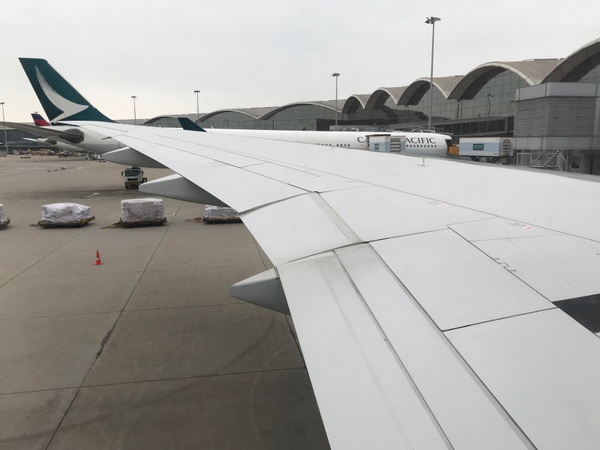 Cathay Pacific 777-300ER Wing