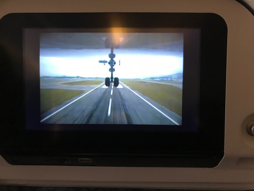 Cathay Pacific 777-300ER Exterior Camera Takeoff