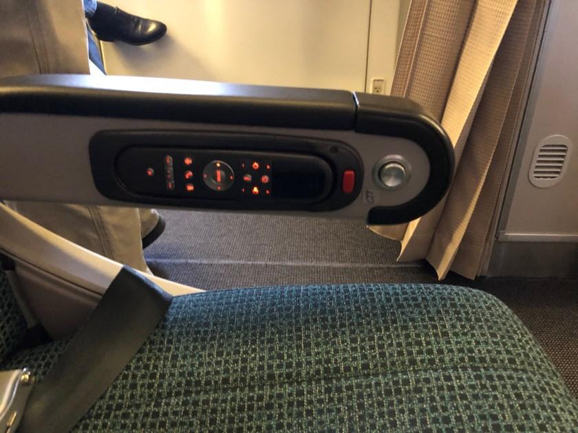 Cathay Pacific 777 Premium Economy IFE Remote