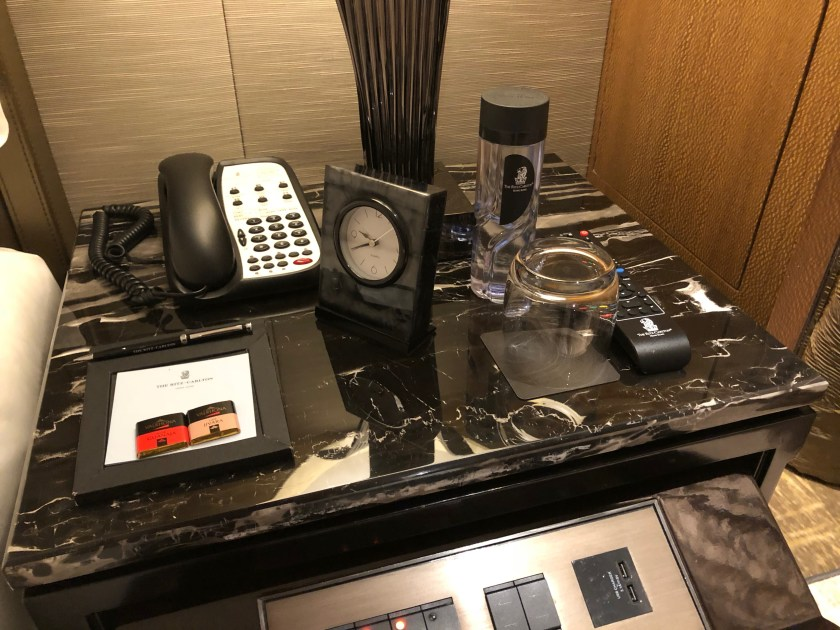 The Ritz-Carlton Hong Kong 112-15 Bedside Table