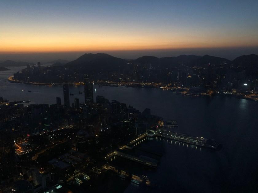 The Ritz Carlton Hong Kong Sunrise