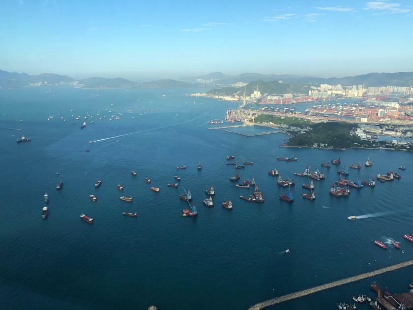 The Ritz-Carlton Hong Kong Fitness Center Views