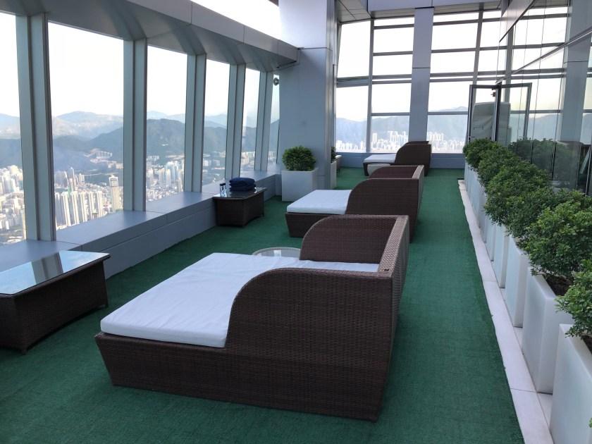 The Ritz-Carlton Hong Kong Fitness Center Outdoor Terrace