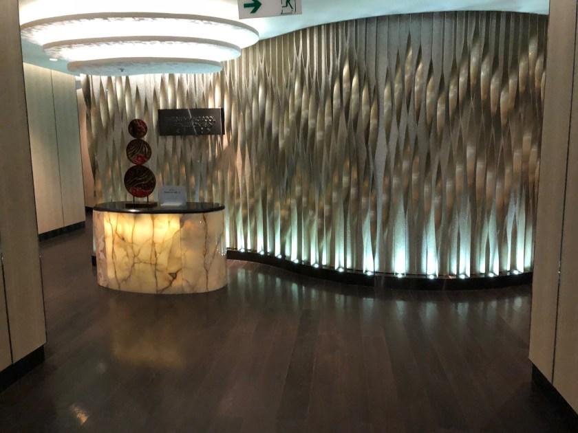 The Ritz-Carlton Hong Kong Fitness Center Reception Desk