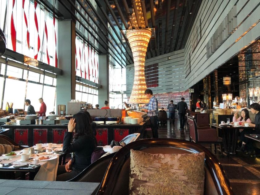 The Lounge Restaurant Decor