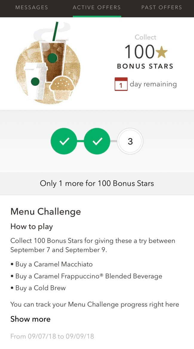 Great Chance To Earn 175 Starbucks Stars Moore With Miles