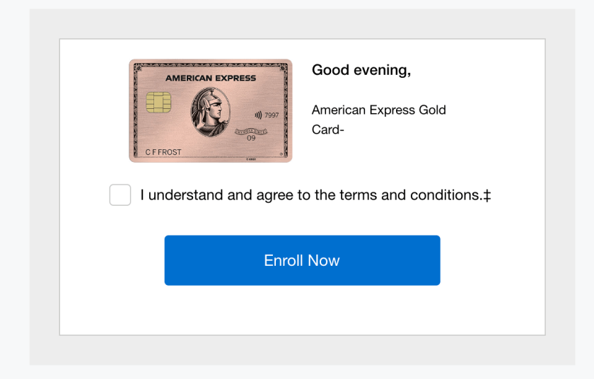 American Express Metal (Rose) Gold Card Activation Checklist