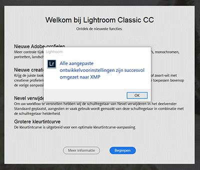 Lightroom Classic CC update 7.3