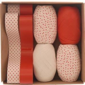 Christmas Ribbon Wrapping Box Set