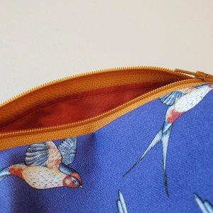 CoralBloom Box Zip Bags Swallows Closeup