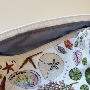 CoralBloom Box Zip Bags Seashells Closeup