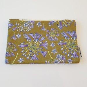 CoralBloom Clutch Bag Agapanthus