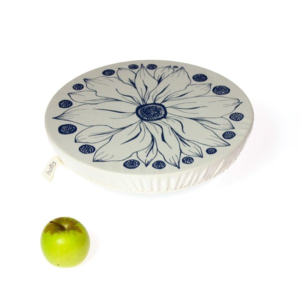 Halo Dish and Bowl Cover Large   Edible Flowers