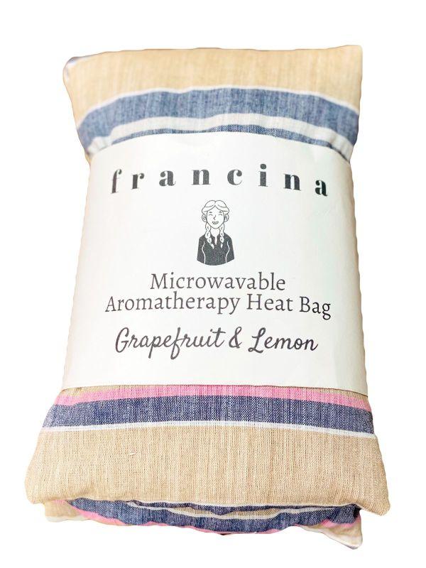 Microwavable Aromatherapy Heat Bag - Grapefruit & Lemon
