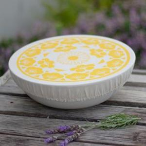 Halo Dish and Bowl Cover Large Edible Flowers | Johanna Linde