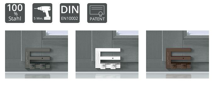 EM3 Aufhebelschutz für Fenster & Türen