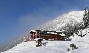 Schönes Winterambiente auf der Adamhütte