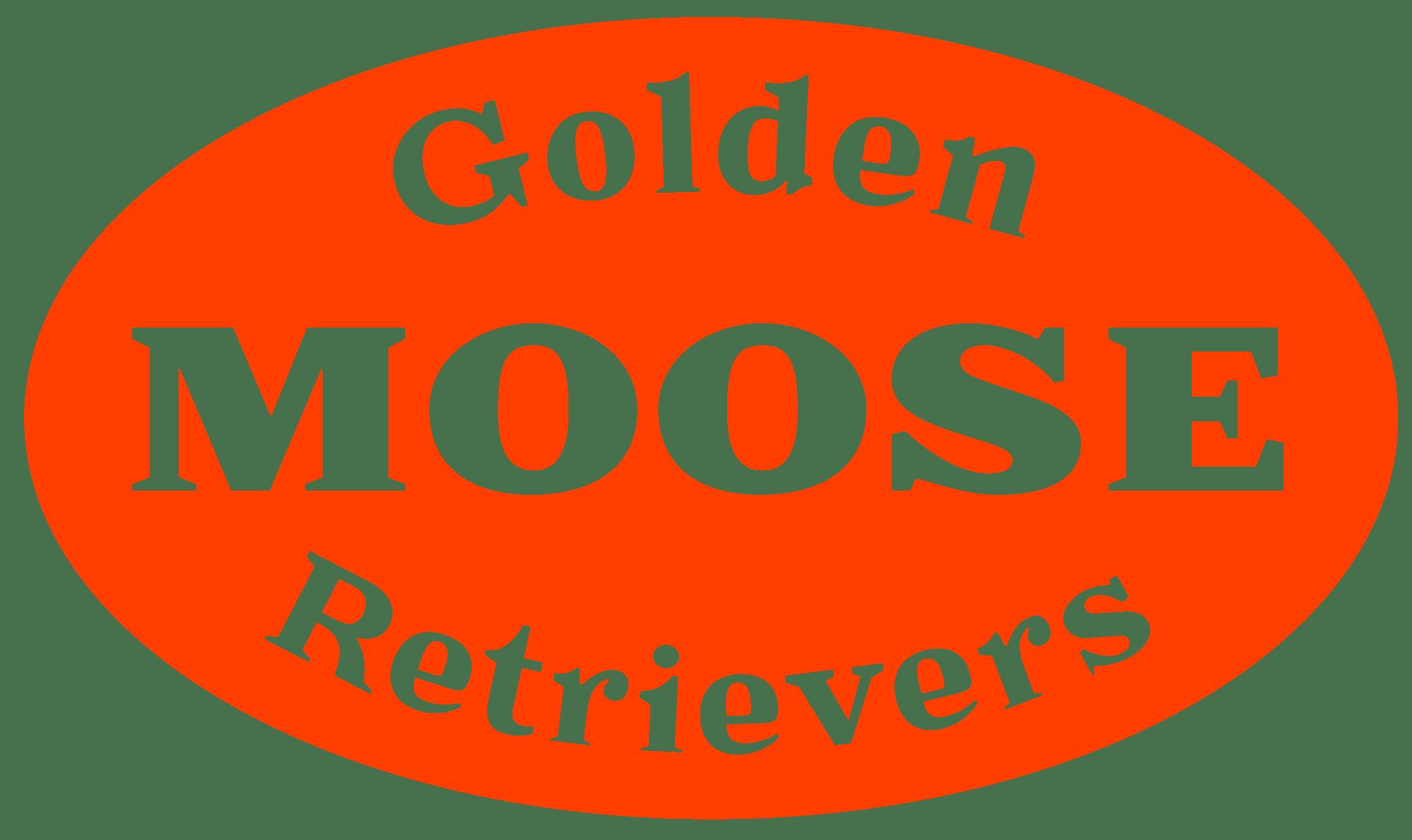 Moose Golden Retrievers Logo