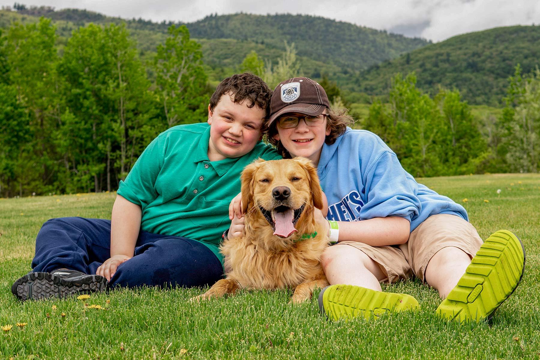 Marty Moose, family photo