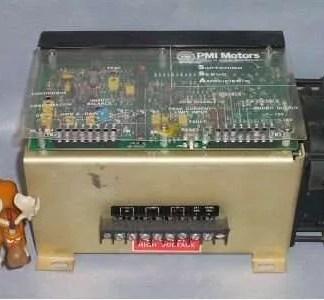 PMI Servo Amplifier SSA System Logic Model 00-88008-003 Type 6L01649
