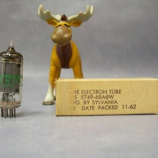 Sylvania 6BA6 Vacuum Tube Military Grade Packed 11/1962