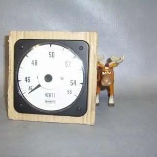 077-41LA-PNAG-AG Crompton AC Frequency Meter