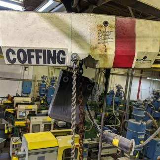 1 Ton Coffing Hoist Duff Norton Lot 195h Moose #H4