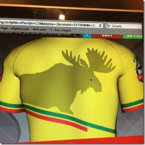 tour jersey back