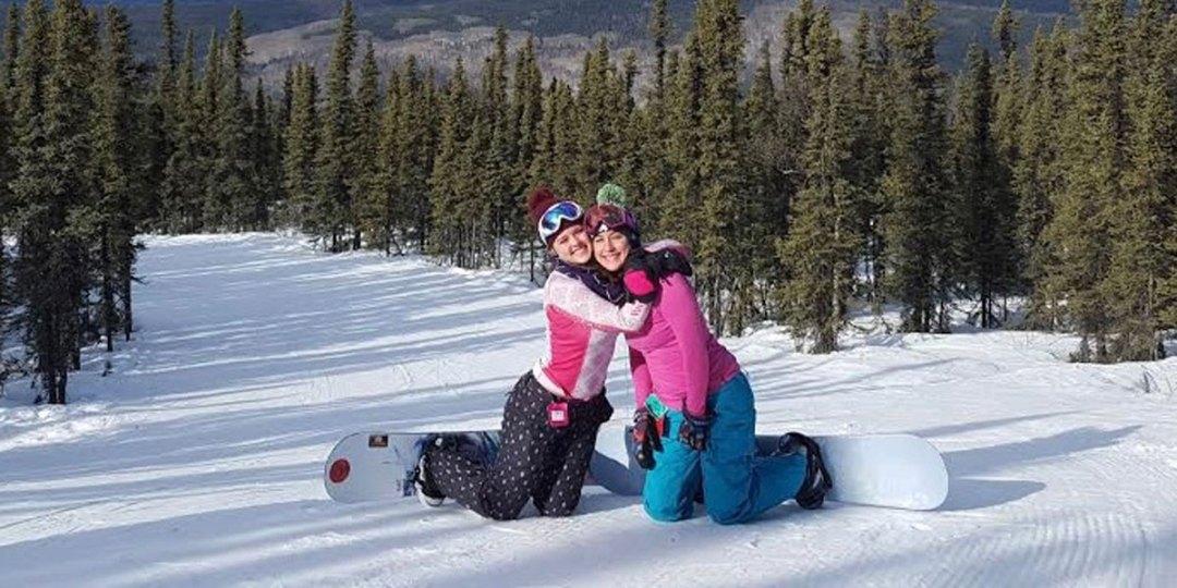 Ski and Snowboard Area - Moose Mountain, Alaska