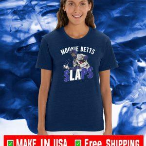 MOOKIE BETTS SLAPS LOS ANGELES T-SHIRT