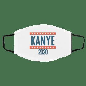 Kanye For President 2020 Face Mask