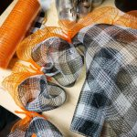 Fall Pumpkin Buffalo Plaid Wreath Mooshu Jenne