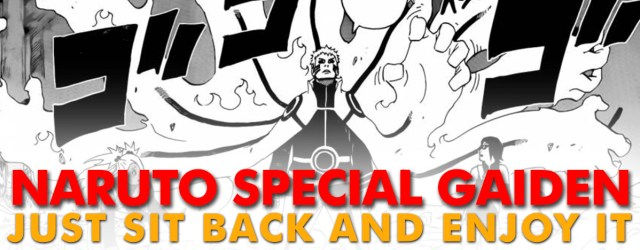 Naruto Special Gaiden: Just Sit Back and Enjoy It