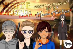 "White Wasabi Ep29: Sword Art Online 2 Ep 3 ""Memories of Fresh Blood"""