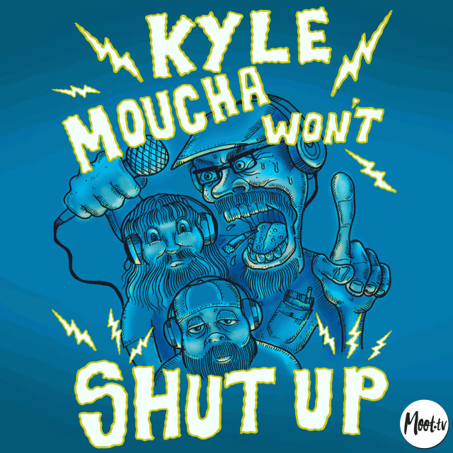 Kyle Moucha Wont Shut Up Season 3 Logo