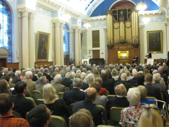 Audience at gala concert