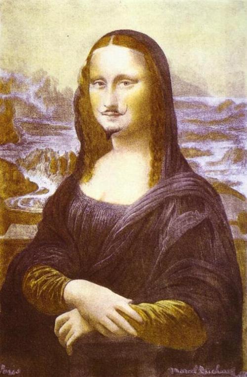 L.H.O.O.Q. de Marcel Duchamp