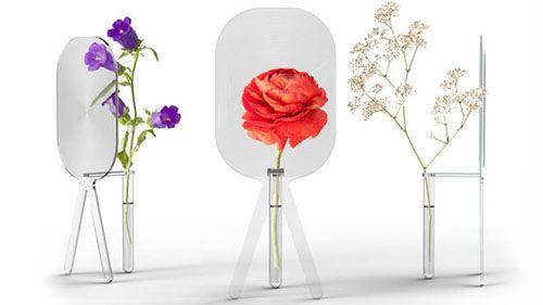 magnifying glass vase vaso lupa cottage industry