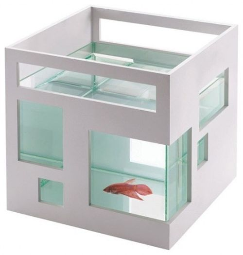pecera fish hotel diseñada teddy luong para umbra