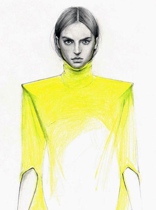 ilustracion moda cedric rivrain